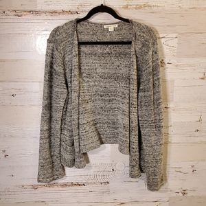 Coldwater Creek gray cardigan sweater